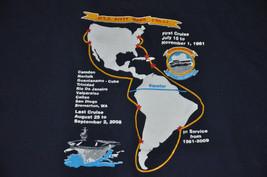 Uss Kitty Hawk Cva-63 Navy Veterans Association VTG T shirt 2XL XXL - $17.99