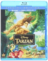 Disney Tarzan (Two-Disc Blu-ray/DVD Combo)