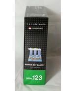 NANO BLOCK MARINA BAY SANDS SINGAPORE NBH_123 MICRO-SIZED 250 PIECES KAWADA - $9.77