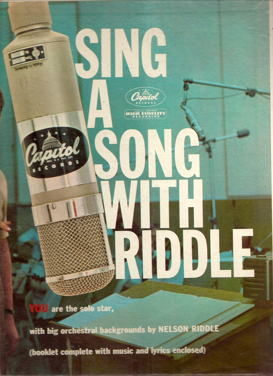 "LP--Nelson Riddle ""SING A SONG WITH RIDDLE"