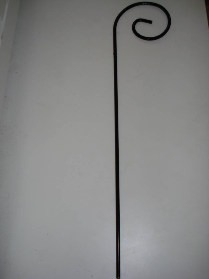 "20"" SMALL SCROLLED SHEPHERD HOOK STYLE WEDDING HANGER"