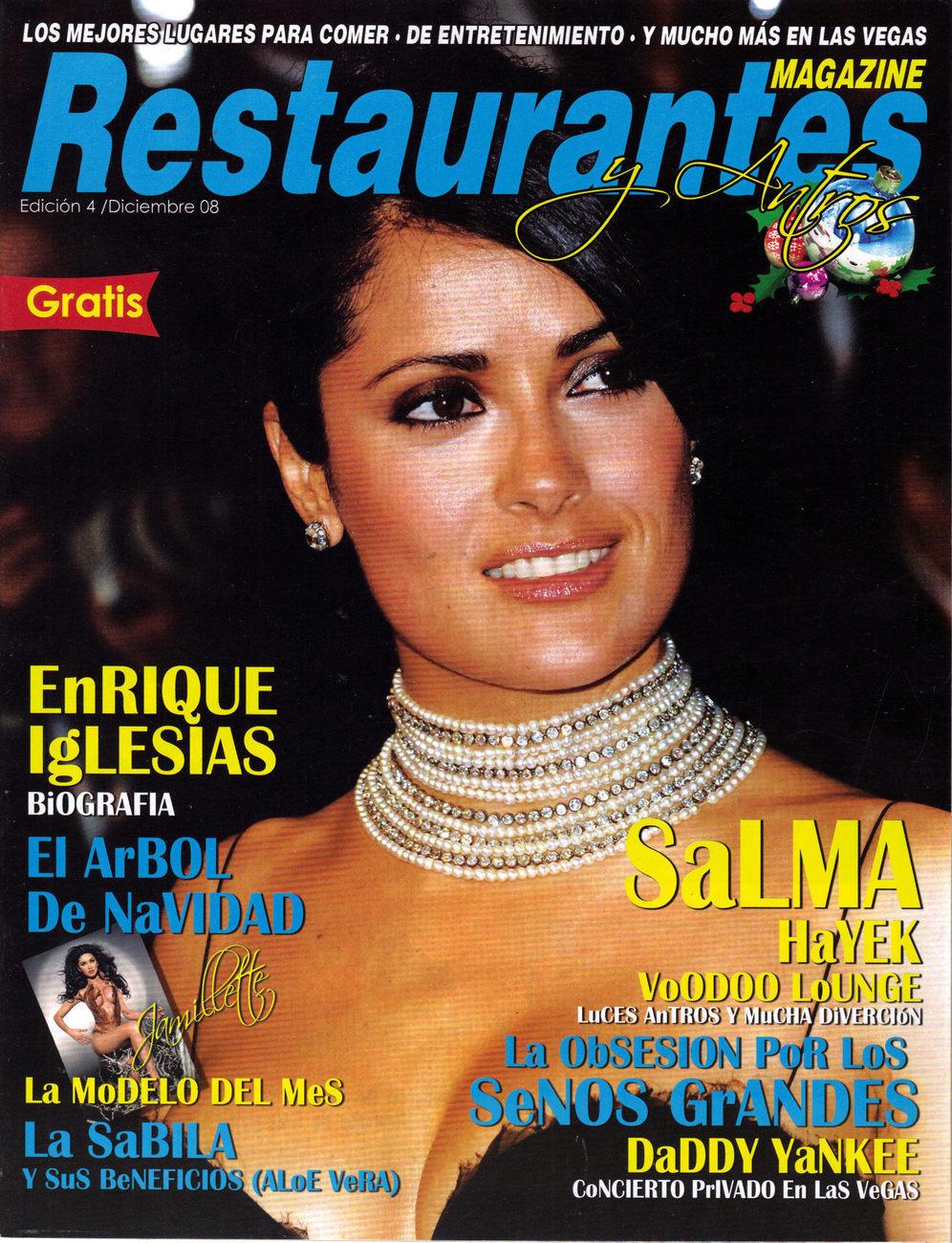 Salma hayek restaurantes