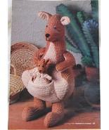 Mama and Joey Crochet  Kangaroo Pattern - $3.95