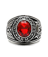 Mens US Army 316L Stainless Steel Military Gift Ring Tun Tavern Iwo Jima... - $22.00