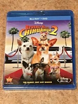 Beverly Hills Chihuahua 2 (Blu-ray/DVD, Disney Film) BRAND NEW / FACTORY... - $5.31