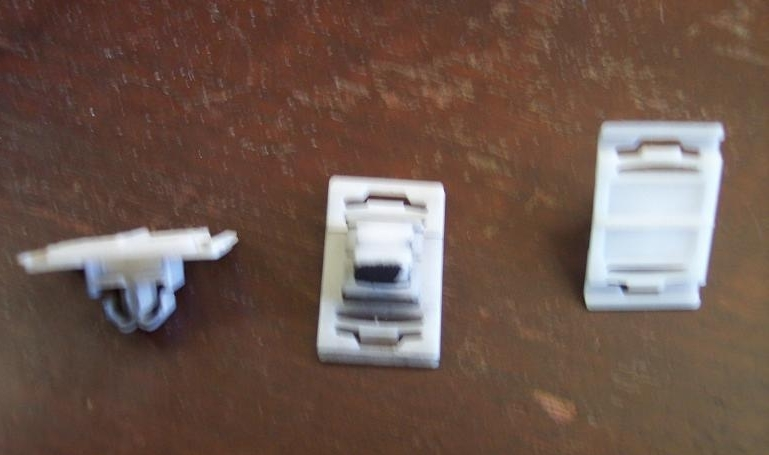 Primary image for Audi 4A0 835 825 door molding clips - 3 pack