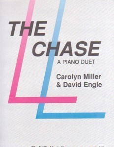 The Chase 1 Piano/4 Hands Carolyn Miller/David Engle
