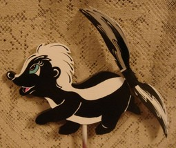 Whirligig, Skunk. Handcrafted, Handpainted,wind mobile,whirligigs,motion... - $58.00