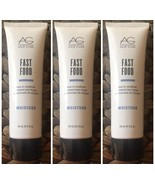 AG Hair Care Moisture Fast Food Leave in Conditioner 2 Oz Lot Pack Of 3 NEW - $16.66