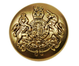 "Ralph Lauren Coat of Arms Gold Color Replacement Main button .80"" -older... - $8.68"