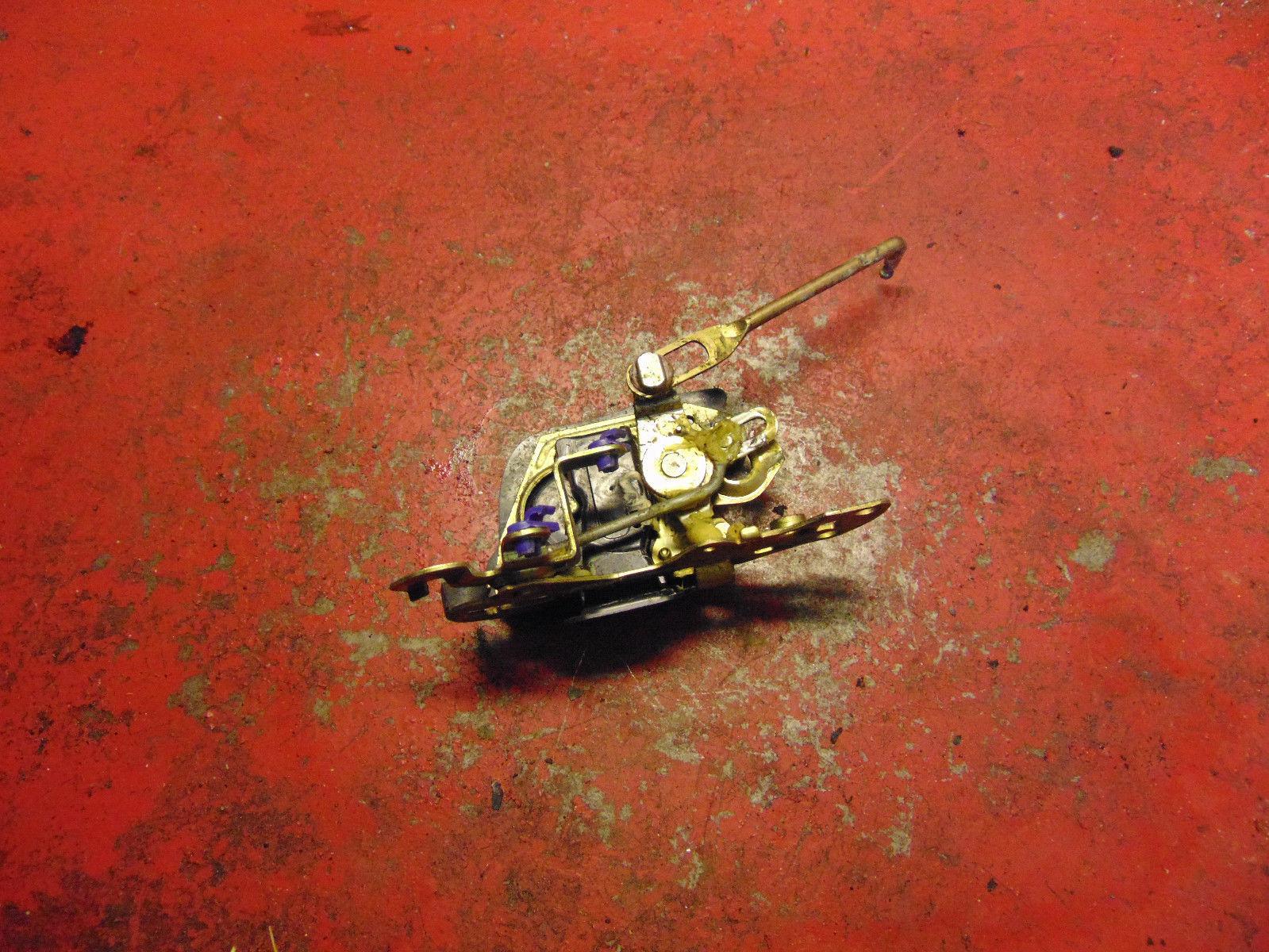 02 01 00 99 98 Isuzu Trooper drivers side left rear door power lock actuator