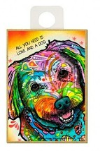 All You Need Is Love And A Dog Maltese Pop Art NEW Fridge Magnet  2.5x3.... - $5.86