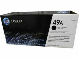 HP 49A (Q5949A) Black Toner Cartridge - Genuine NEW Sealed - $53.29