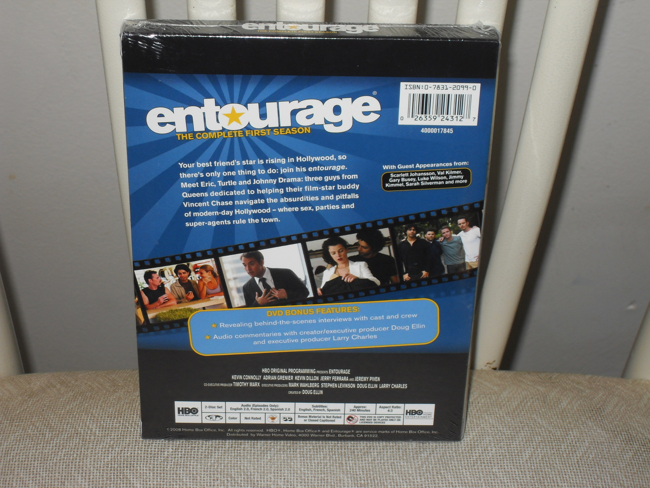 HBO Entourage The Complete First  Season On DVD Brand New Sealed
