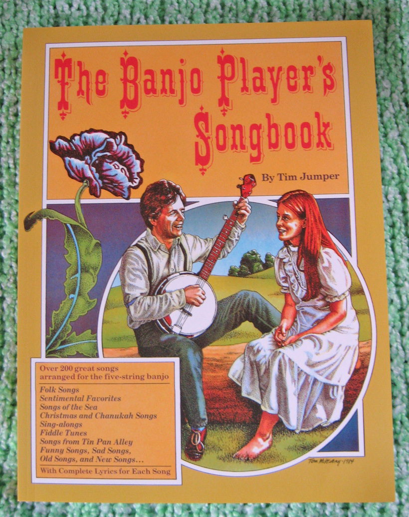 The Banjo Player's Songbook/Over 200 Songs/TAB/Holiday/Bluegrass/Old Time