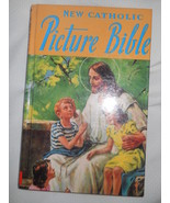 New Catholic Picture Bible Rev Lawrence Lovasik Religious Art 100 Storie... - $6.97