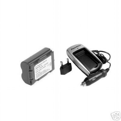 CGR-S602SE Battery +Charger for Panasonic DMC-LC1 DMC-LC1B DMC-LC1EG-K DMC-LC1PP