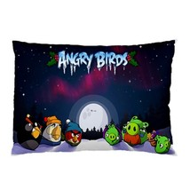"""BRAND NEW Angry Birds Christmas 30""""X20"""" Full Size Pillowcase - $16.99"""