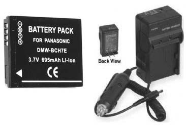 Battery + Charger Panasonic DMCTS10R DMC-TS10S DMCTS10S