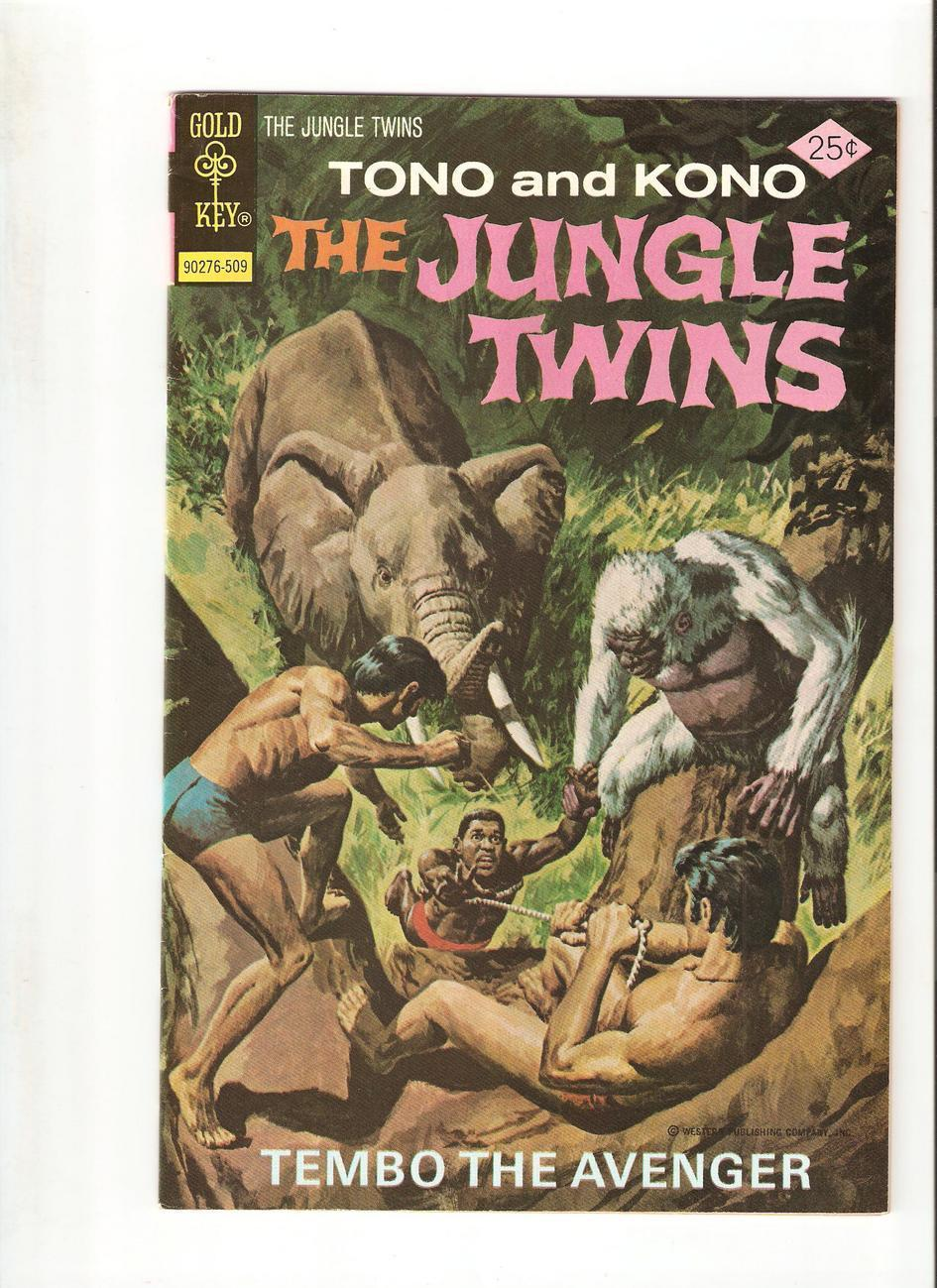 The Jungle Twins # 16 (Sept.1975)