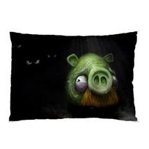 "BRAND NEW Angry Bird TERRIFIED PIG 30""X20"" Full Size Pillowcase - $16.99"