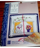 Book of Stitches~CAT~Designs for the Needle Kit - $4.65