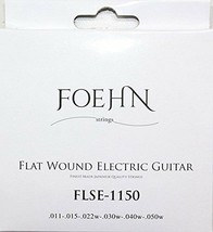 FOEHN FLSE-1150 Flat Wound Electric Guitar Strings Jazz Light 11-50 - $14.15
