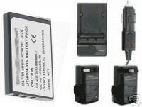 2 CGA-S301 CGA-S301A1 Batteries +Charger for Panasonic SV-AV10 SV-AV10U SV-AV10A