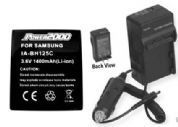 Battery + Charger for Pentax X90 X-90 39863 D-LII06