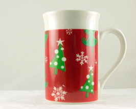Royal Norfolk porcelain Christmas Trees coffee ... - $8.00