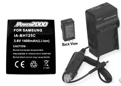 Battery + Charger for Samsung IA-BH125C/WWD AD82-00378A