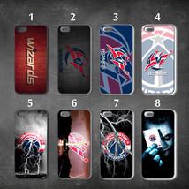 Washington Wizards iphone 7 case 8 case 6 case 4 5 6s cover 6plus 7plus 8+ - $12.60+