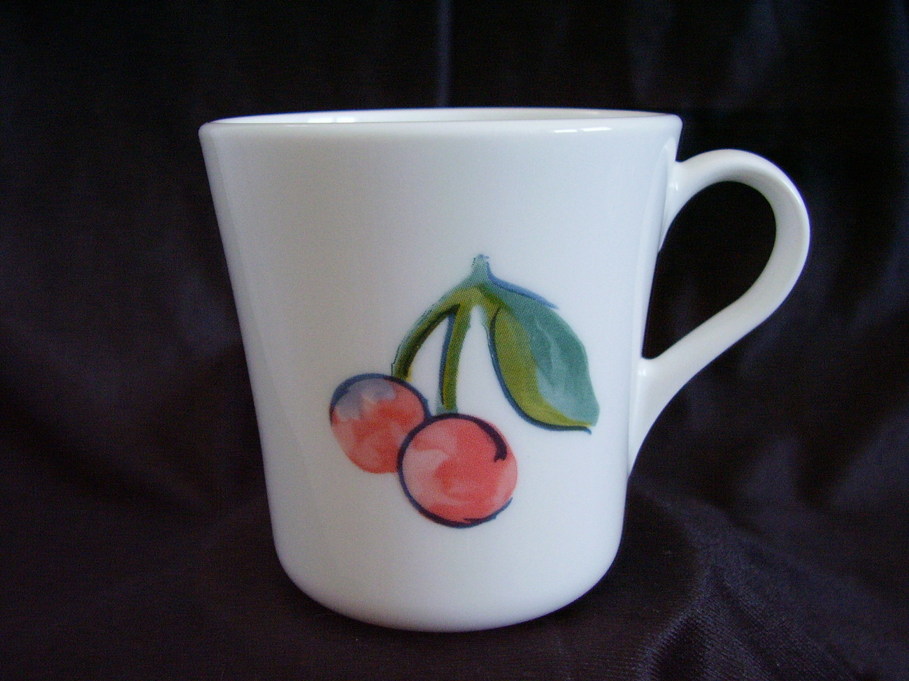 Primary image for Corelle Fruit Too Coffee Cup Mug Cherries Apples