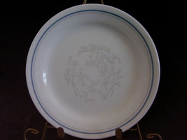 Corelle Queens Lace Bread Butter Plate Grey Gray Blue - $6.00