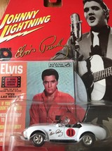 Johnny Lightning Rock Art 1965 Shelby 427 Cobra Elvis Presley Mini Recor... - $29.91