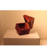 """4 1/2"""" Wooden Lidden Cone Incense Burner - $17.00"""
