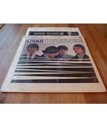 The Kinks Kinda Kinks Mono Lp 1A 1A Reprise R6173 Tri Color Lbl 1ST Pres... - $29.99