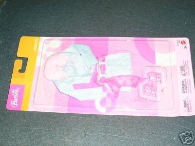 Barbie Weekend Denim Jacket-Skirt Pink shoes belt colar