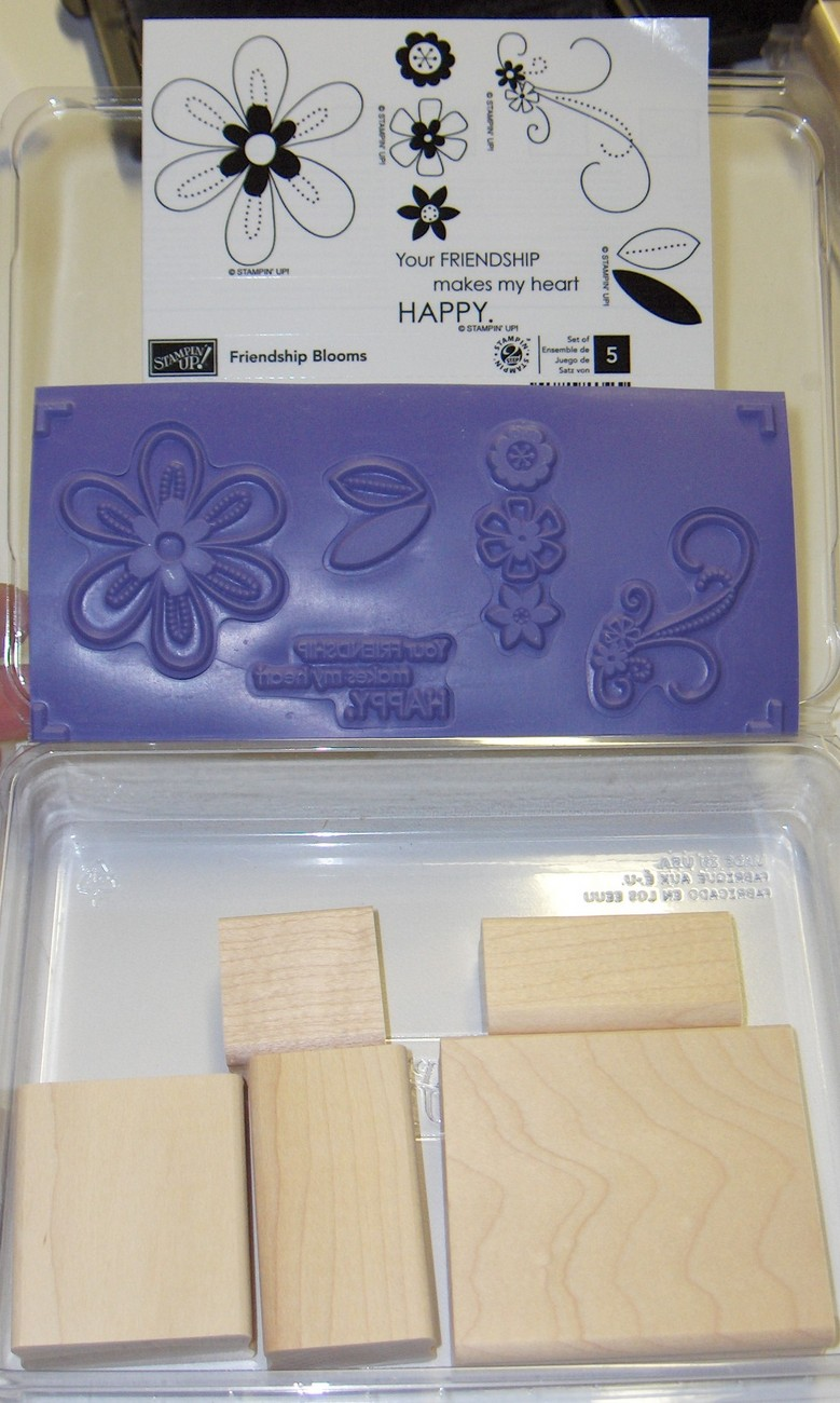 Stampin Up! Friendship Blooms
