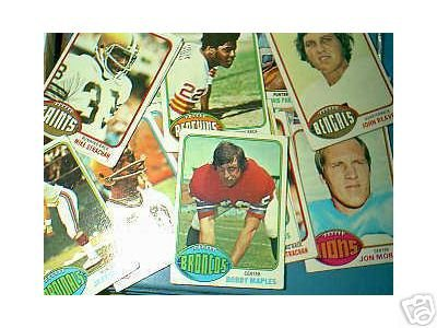 50 1976 Topps football cards Bundle different