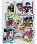 50 1974 Topps football cards Bundle different - $19.50