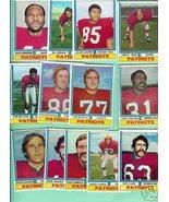1974 Topps Football 13 Patriots Cash Neville Lenkaitis+ - $9.99