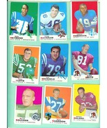 1969 Topps FootBall Card Lot #1 18 different AS IS - $14.99