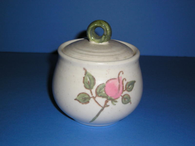 California Rose MetLox Poppytrail Sugar with Lid