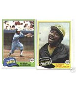 100 - 1981 Topps baseball cards Bundle different LOT - $13.63
