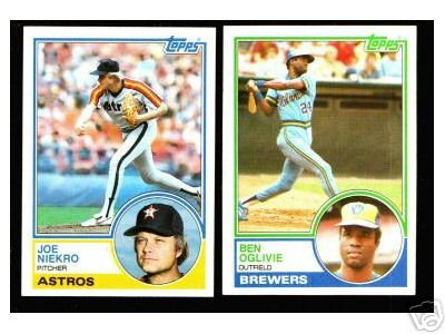 Primary image for 100 - 1983 Topps baseball cards Bundle different LOT