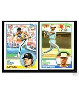 100 - 1983 Topps baseball cards Bundle different LOT - $8.50