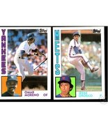 100 - 1984 Topps baseball cards Bundle different LOT - $8.50