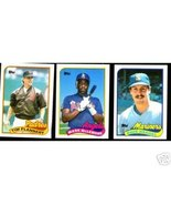 100 - 1989 Topps baseball cards Bundle different LOT - $3.50