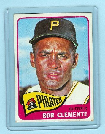 Primary image for 1965 Topps Baseball # 160 Bob Clemente Card Pirates